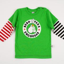 Camiseta bebé unisex BEBO PARA ENGORDAR