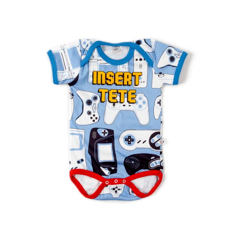 Body bebé unisex INSERT TETE uud