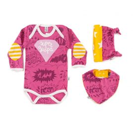Pack regalo bebé niña SUPERGUAPA
