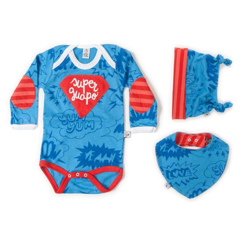 Pack regalo bebé niño SUPERGUAPO