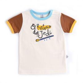 Camiseta bebé RETOÑO JEDI manga corta