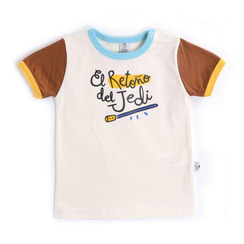 Camiseta niño manga corta EL RETOÑO DEL JEDI