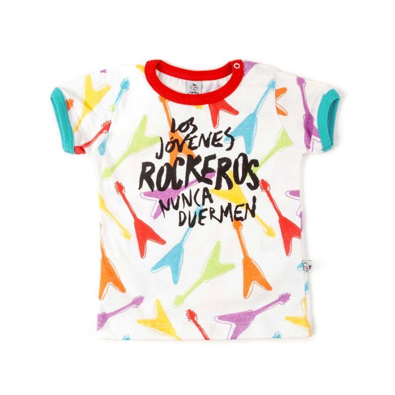camiseta los jovenes rockeros nunca duermen 1