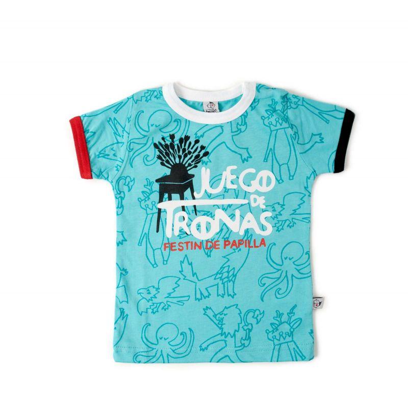 camiseta niño juego de tronas festin de papillas 1