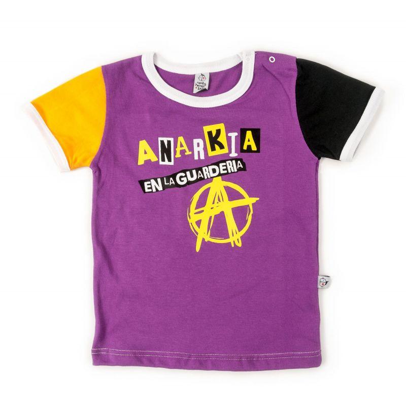 camiseta manga corta anarkia en la guarderia