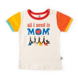 Camiseta bebé BEATLES manga corta