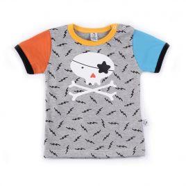Camiseta bebé CALAVERA manga corta