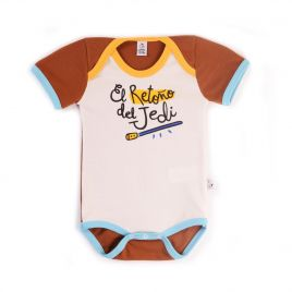 Body bebé EL RETOÑO DEL JEDI manga corta