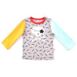 Camiseta bebé CALAVERA manga larga