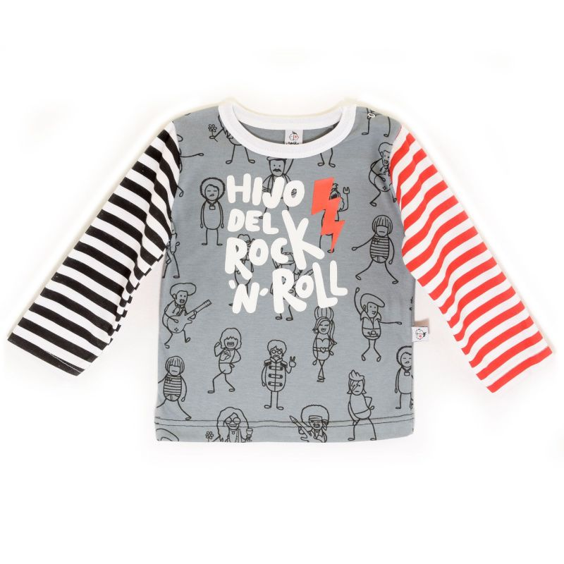 Camiseta bebé HIJO manga larga