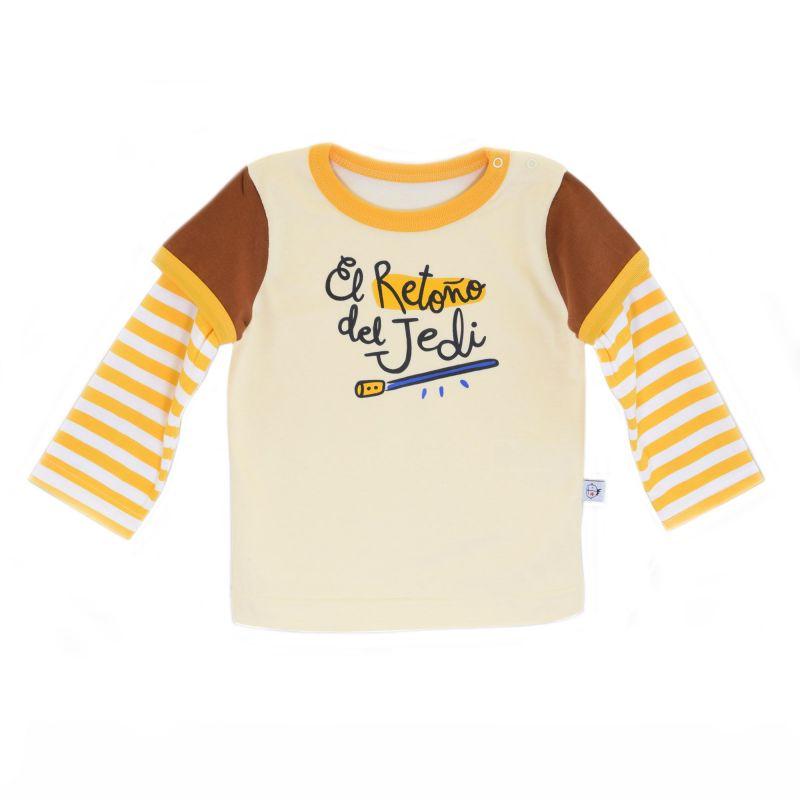 Camiseta bebé manga larga RETONO JEDI