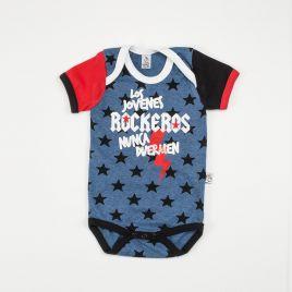 Body bebé ROCKEROS mc bicolor