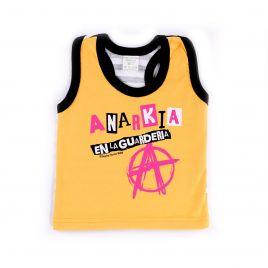 Camiseta ANARKÍA tirantes amarilla uud