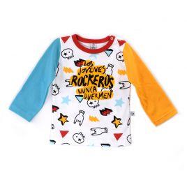 Camiseta bebé LOS JÓVENES ROCKEROS dedos ml