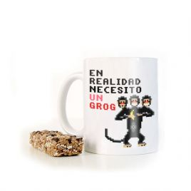 Taza divertida MONKEY ISLAND