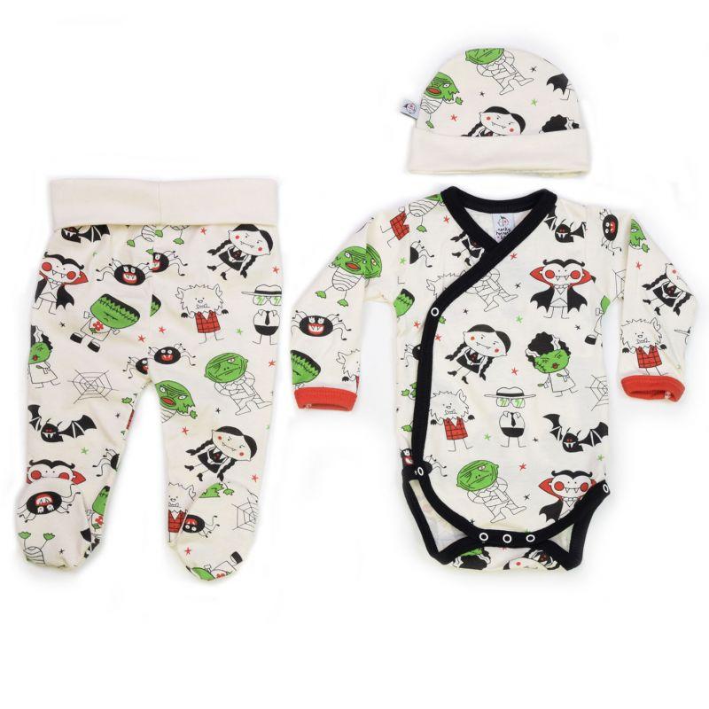 Conjunto ropa primera puesta bebé MONSTERS