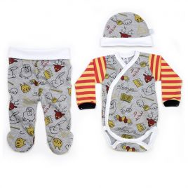 Conjunto ropa primera puesta bebé POTTER