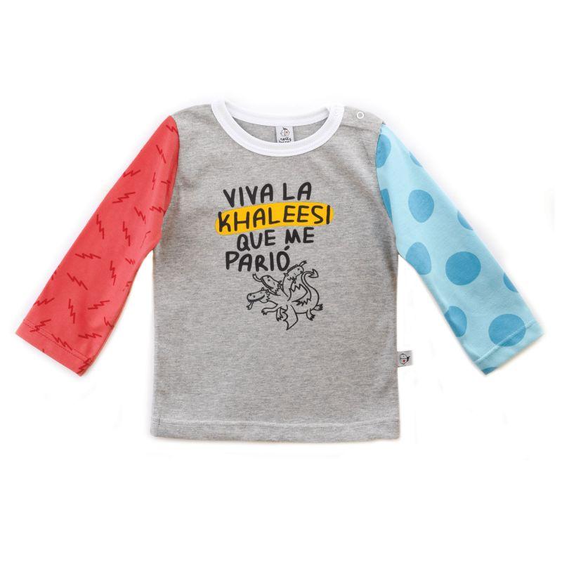Camiseta bebe KHALESSI manga larga