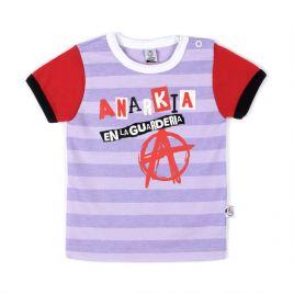 Camiseta ANARKIA rayas mc