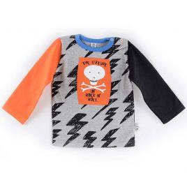 Camiseta FUTURE calavera naranja uud