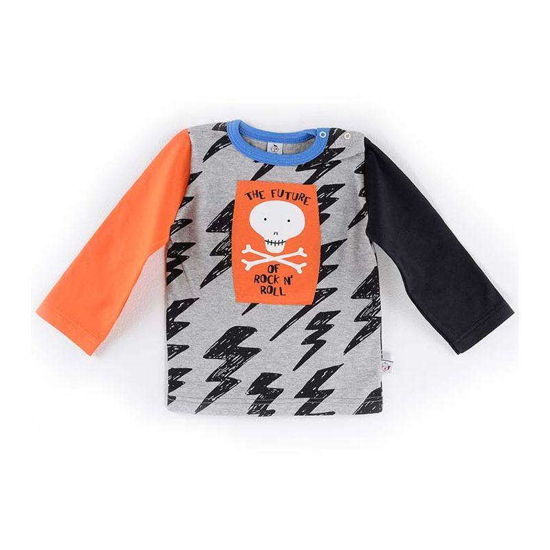 Camiseta FUTURE naranja ml