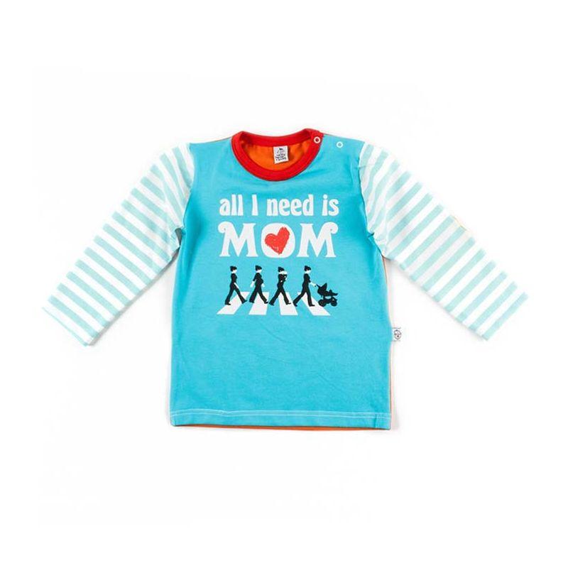Camiseta BEATLES ml turquesa claro