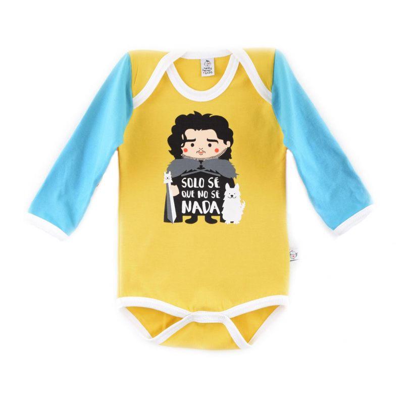 Body bebé JON NIEVE manga larga