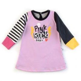 Vestido niña PINK ROCK BABY