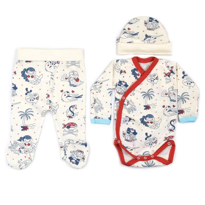 Conjunto ropa primera puesta bebé SAILOR