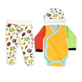 Conjunto ropa primera puesta bebé FRIKI