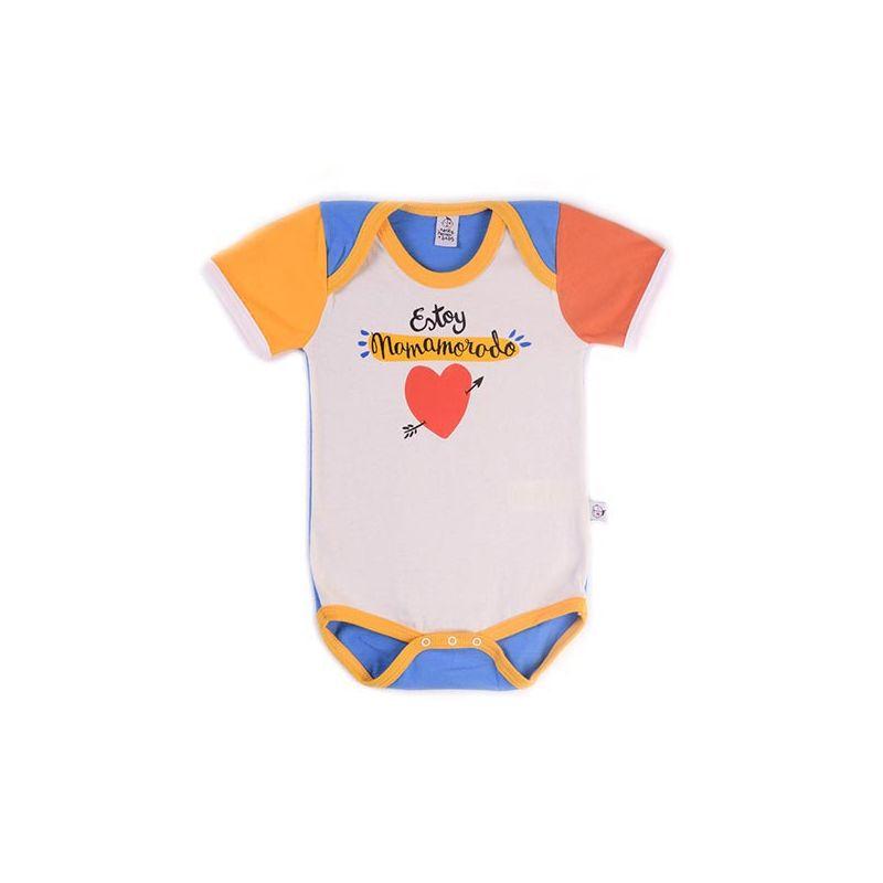 Body bebé niño MAMAMORADO manga corta
