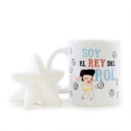 Taza divertida EL REY DEL ROL