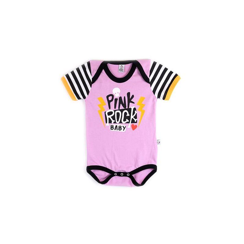 Body bebé PINK ROCK mc