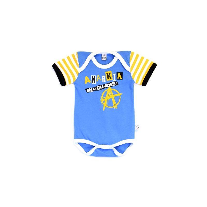 Body bebé ANARKIA azul mc