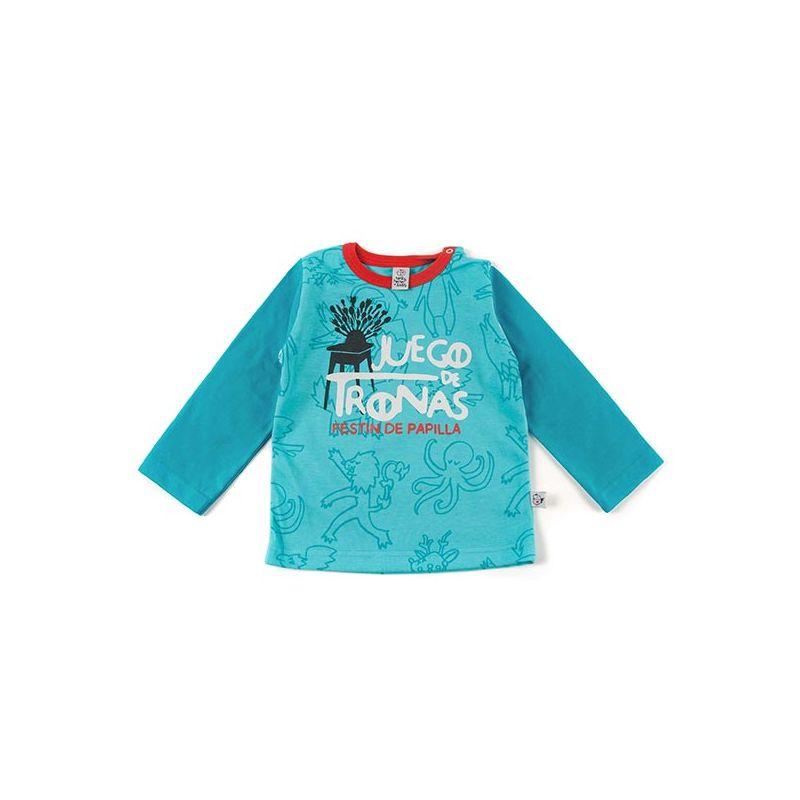 Camiseta bebe manga larga JUEGO de tronas