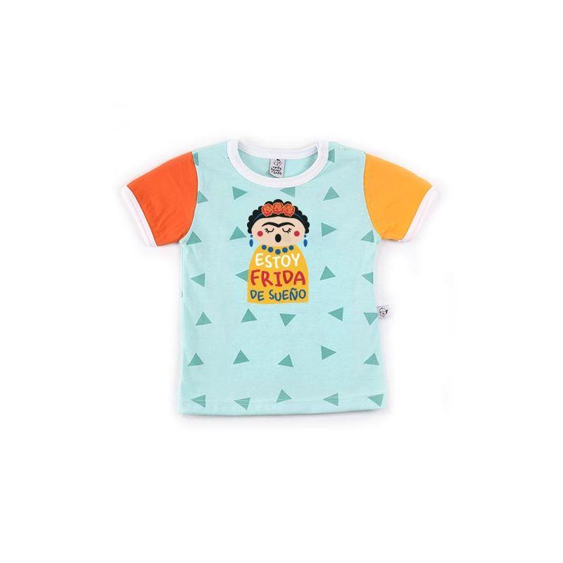 Camiseta bebe manga corta molona