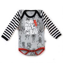 Body bebé niño HIJO DEL ROCK ml