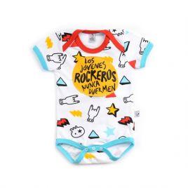 Body bebé LOS JÓVENES ROCKEROS dedos mc