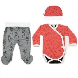 Conjunto ropa primera puesta bebé ROCK