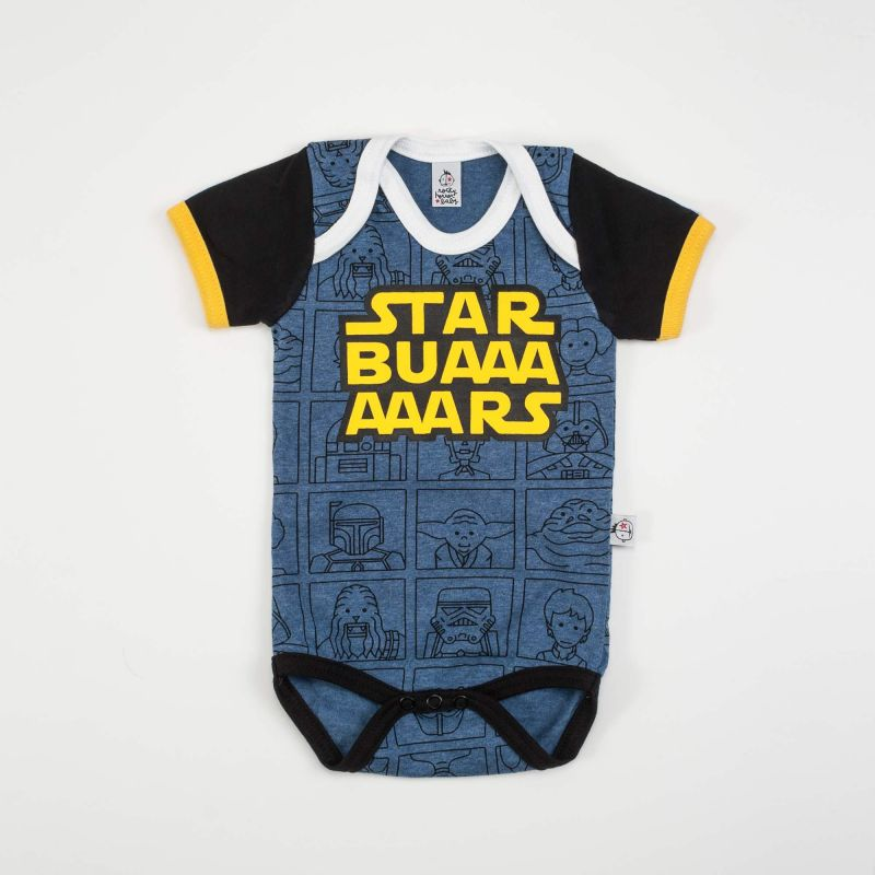 Body STAR BUARS azul mc