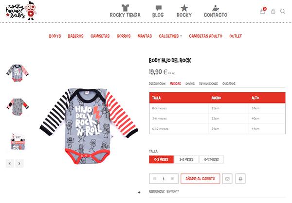 6a0a8e64f Cómo elegir la talla en la ropa de bebé